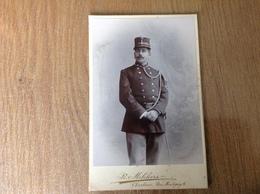 Photo Sur Carton Militaire - Guerre 1914-18