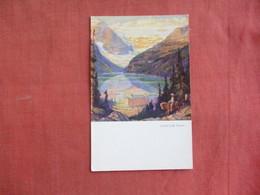 Canada > Alberta > Lake Louise --paper Peel  Off Back Ref 3098 - Lake Louise