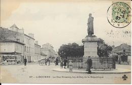 LIBOURNE  Le Duc Decazes Les Allées De La République - Libourne