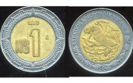 MEXIQUE 1 Peso 1993 - Mexique