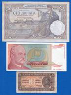 6  Billets - Yougoslavie