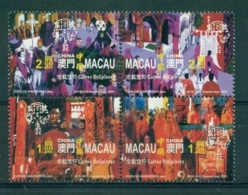 MACAO CHINE 1045/48 Cultes Religieux (boudhisme, Catholicisme) - 1999-... Région Administrative Chinoise