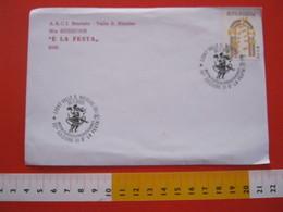 A.04 ITALIA ANNULLO - 2005 VALLE SAN NICOLAO BIELLA MOSTRA ENO GASTRONOMICA E' LA FESTA DANZA BALLO FOLKLORE FOLK - Danza