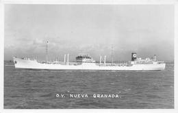 """¤¤  -  Carte-Photo Du Bateau De Commerce """" NUEVA GRANADA """"  -  Cargo   -   Voir Description     -  ¤¤ - Commerce"""
