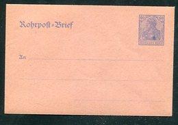 Deutsches Reich / Rohrpostumschlag Mi. RU  9 ** (1/472) - Deutschland