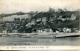 N°67778 -cpa Sainte Adresse - Vue Prise De La Plage- - Sainte Adresse