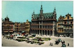 Brussel, Bruxelles, Grote Markt, Broodhuis (pk52198) - Marktpleinen, Pleinen