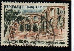 """SITES ET MONUMENTS - 1F """"Médéa (Algérie)""""   N° 1318 8Obl. - France"""