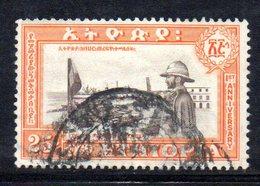 ETP86B - ETIOPIA 1953 , Yvert  N 327  Usato  ERITREA - Ethiopia