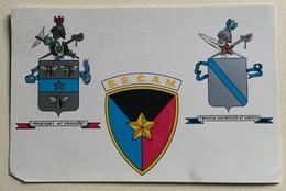 Cartolina Scuola Dei Servizi Di Commissariato E Di Amministrazione Militare Viaggiata Fg - Polizia