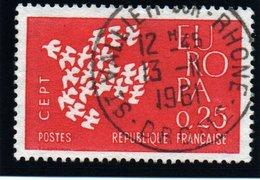 EUROPA - 25c   N° 1309 8Obl. - France