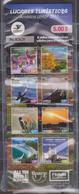 ECUADOR 2017 CARNET UPAEP TOURISTIC PLACES ORCHIDS YELLOW TREES GALAPAGOS BEACHES BIRDS QUITO JUNGLE ADHESIVE STAMPS MNH - Equateur