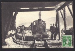 Vallorbe - Entrée Du Tunnel Mont D'Or  - Dampflok - VD Vaud