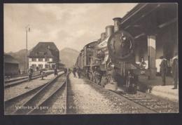 Vallorbe - La Gare - Bahnhof - Train à Vapeur - Dampflok - VD Vaud