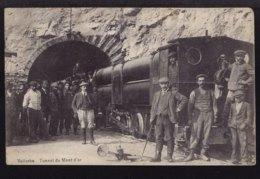Vallorbe - Tunnel Du Mont D' Or - Locomotive A Air Comprime - VD Vaud