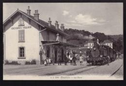Cexbres - La Gare - Bahnhof - 1915 - Train à Vapeur - Dampflok - VD Vaud