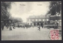 Yverdon - La Gare - Bahnhof - Postauto - Car Postal - 1907 - VD Vaud