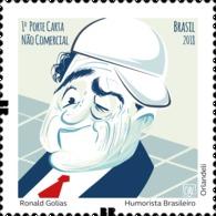 Brazil Stamps 2018 Ronald Golias - Brazilian Humorist - Brésil