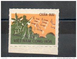 Vietnam Du Sud. Franchise Militaire. - Viêt-Nam