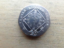 Ile De Man 20  Pence  2011  Km 1257 - Regional Coins