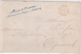 LSC - (gde Env.) : MAISON De L'EMPEREUR + CàD (R) PARIS Son Des CONTRE-SEINGS / 20 SEPT; 68 - Marcophilie (Lettres)