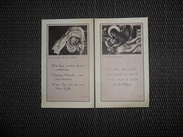 Doodsprentje ( G 168 ) De Cock / Lambrechts  -  Verrebroeck  -  St - Gillis - Waas    -  1947 - Décès