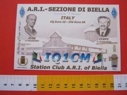 A.04 ITALIA ANNULLO - 2008 OCCHIEPPO INFERIORE BIELLA RADIO VINCENSO ROSA MENTORE DI GUGLIELMO MARCONI - Radio