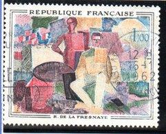 "OEUVRES D'ART - 1F  ""14 Juillet De La Fresnaye""  N° 1322 Obl. - France"
