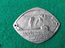 DISTINTIVI DA BASTONE Rifugio Marmolada Sede Del CAI 2040 M. - Italia