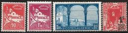 Algeria 1926-39 Scott 57 60 62 131 MNH (57 And 60 Colonial Gum) Mosque, Cactus - Neufs