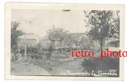 Photo Guerre 14 / 18 -  Béthincourt ( Meuse ), Le Cimetière - Guerre, Militaire