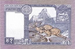 NEPAL P. 22 1 R 1977 UNC (2 Billets) - Népal