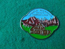 DISTINTIVI DA BASTONE Catinaccio Rifugio Cimpedie 2000 M. - Italia