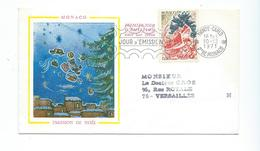N 1 - NOËL - EMISSION DE NOËL 1971 - MONACO - (TP PERE NOËL) - Noël
