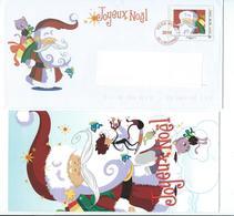 N 2 - JOYEUX NOËL 2010 - LA POSTE - LETTRE DU PERE NOËL - Noël