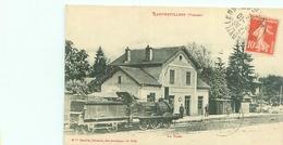Top Cpa -   Rambervillers - La Gare   ,   Animée              N969 - Rambervillers