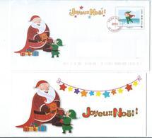 N 5 - JOYEUX NOËL 2015 - LA POSTE - LETTRE DU PERE NOËL - Noël