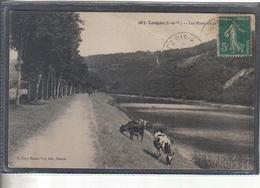 Carte Postale 35. Langon Vaches Très Beau Plan - France
