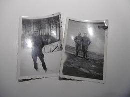 18WH - Soldats Belges Carabiniers Cyclistes Souvenir Mons 1940 - Guerre, Militaire