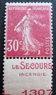 R1680/223 - 1924 - TYPE SEMEUSE - N°191c NEUF* - Frankreich