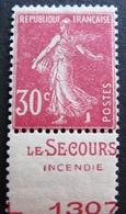 R1680/223 - 1924 - TYPE SEMEUSE - N°191c NEUF* - France