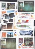 ANDORRE ESPAGNOL  LOT DE 18 BLOCS SHEET   VEGUERIA EPISCOPAL ** PRINCIPAT ANDORRA 1993 - Neufs