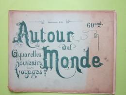 SYRIE Sites Et Paysages / 8 AQUARELLES / Fascicule XVI / AUTOUR DU MONDE - Livres, BD, Revues