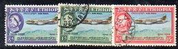 ETP83B - ETIOPIA 1955, Posta Aerea Serie Yvert N. 35/37  Usata - Ethiopia