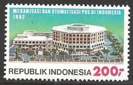 1992 Postal Sorting Equipment 200R, Mint Never Hinged - Indonesia