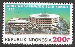 1992 Postal Sorting Equipment 200R, Mint Never Hinged - Indonesië