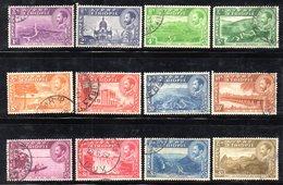ETP84 - ETIOPIA 1947, Serie Ordinaria Yvert N. 257/268  Usata - Etiopia