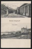 HUNGARY - Zebegény,village In Pest County - Árpád Street - Train Station -VINTAGE POSTCARD (APAT#19) - Hungary