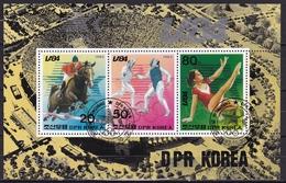 NDPR 1984 Los Angelos Olympic Games Block - Zomer 1984: Los Angeles