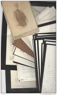 AUTOGRAPHE  Colonel Vte Joseph Le Vavasseur ( 1841 - 1925 ) Importante Archive Lettres Photo ( Château Moyencourt ) - Autographs